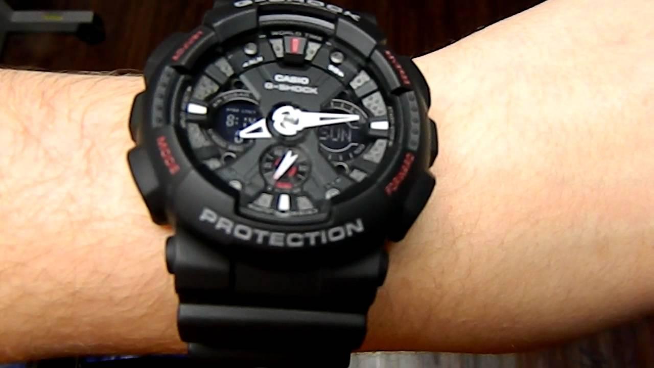 7af1dbede7c G-Shock GA-120 - YouTube