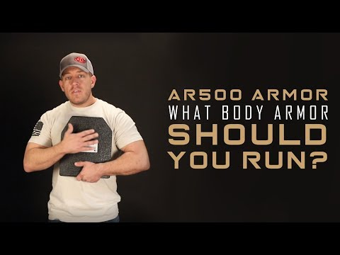 What Body Armor Should You Run? Flat, Curved, Curved Buildup and Square | AR500 Armor