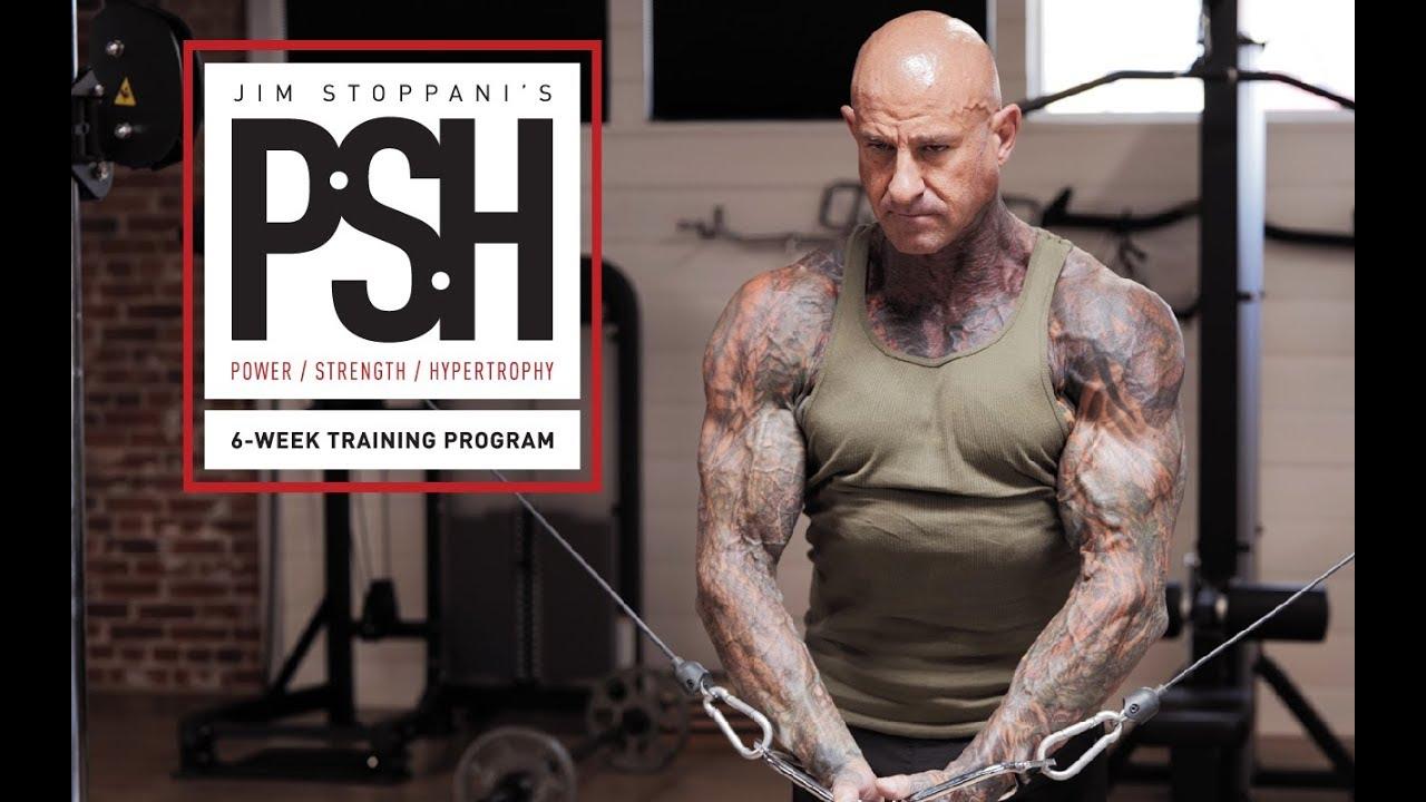 Jim Stoppani's [PSH] Power,Strength,Hypertrophy Workout Program | Day 4  Walk-through