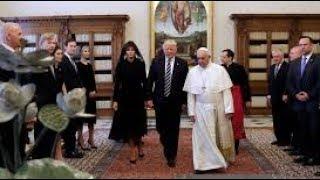 Donald Trump es RECHAZADO POR SU ESPOSA Melania Trump en ROMA -DONALD TRUMP MUY ENOJADO