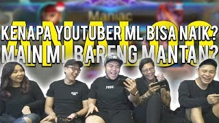 KENAPA YOUTUBER BISA NAIK GARA GARA MOBILE LEGENDS!?!? - Mobile Legends Indonesia #86
