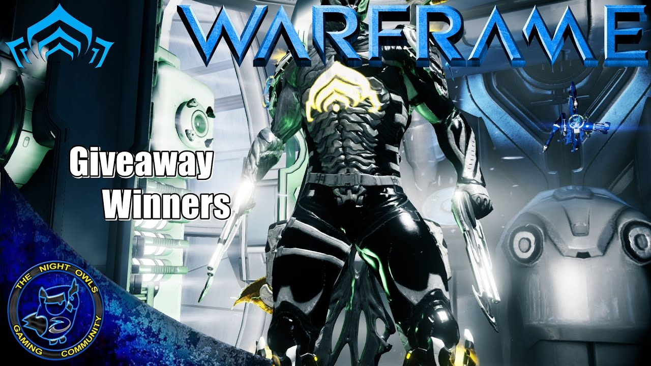 Warframe: Platinum & Gift Giveaway Winners Announcement - YouTube