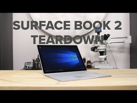 Microsoft Surface Book 2 Teardown!