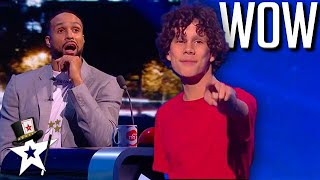 Father & Son SHOCK Ashley Banjo on The BGT Stage! Britain's Got Talent | Magicians Got Talent