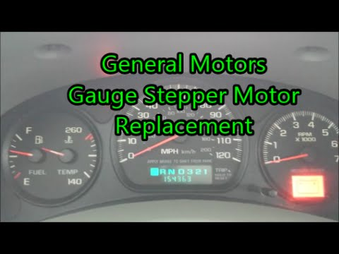 Chevy Impala Gauge Fix (Stepper Motor Replacement)