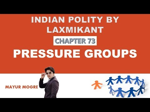 Indian Polity- दबाव समूह- Pressure Groups | Interest groups | Vested groups By MM