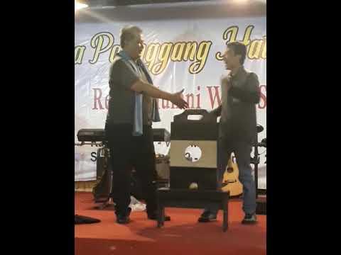 """Aksi """"Potong Leher"""" Kang H Taufik F -Reuni WMBS UPI"""