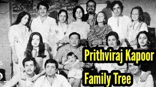 Prithviraj kapoor family tree/Bollywood