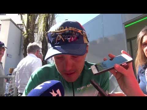 Domenico Pozzovivo - intervista post gara - Tappa 4 - Tour of the Alps 2018