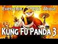 Everything GREAT About Kung Fu Panda 3!