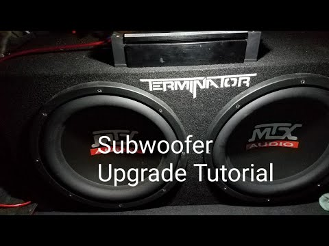 ACURA TL SUBWOOFER UPGRADE  INSTALLATION TUTORIAL