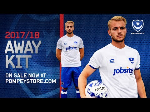 Up close and personal with Pompey's 2017/18 away kit