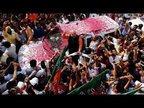 Celebrations held as Bharatiya Janata Party claims victory
