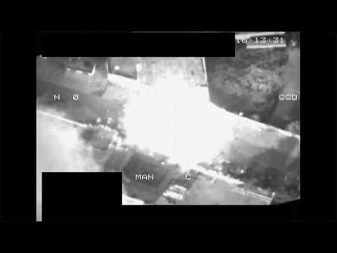 NATO and Libya - Air Strike against Gadaffi tank attacking Musrata