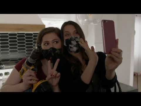 Vidéo DOUBLAGE avec masque Marion Dumas