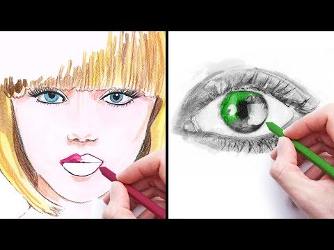 42 ART TECHNIQUES TO DRAW LIKE A PRO