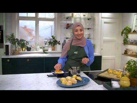 Kökets Baktips: Saftiga Lussekatter Med Vaniljkräm - Köket