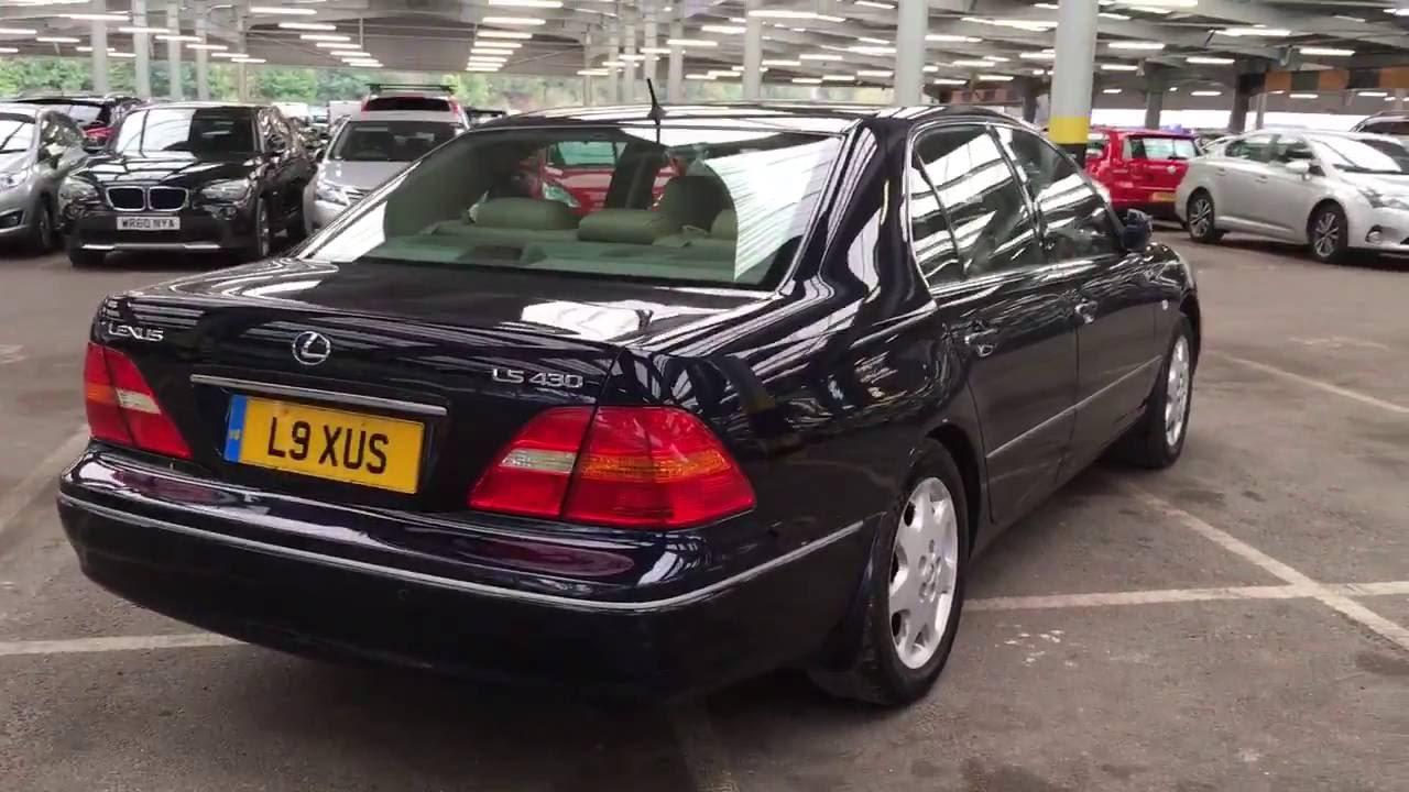 2002 Lexus Ls430 Ls 430 4 3 Vvti V8 Engine Video Review