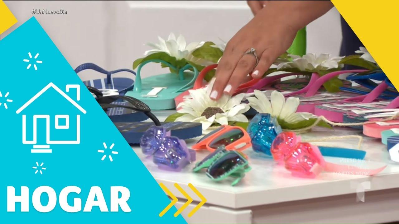 Ideas de decoración para traer el verano dentro de tu casa | Un Nuevo Día | Telemundo