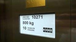 KONE modernized traction elevators @ Mannerheimintie 14, Helsinki, Finland.