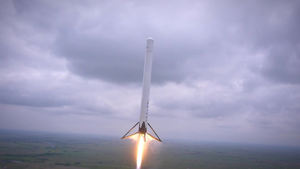 SpaceX - Falcon 9 Reusable (F9R) Rocket First Flight Test ...