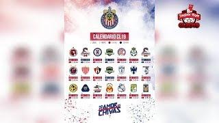 Chivas Del Guadalajara Calendario Oficial | Clausura 2019 | Liga Mx