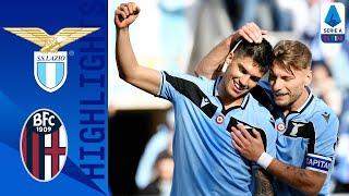 Lazio 2-0 Bologna | Lazio momentaneamente prima in campionato! | Serie A TIM