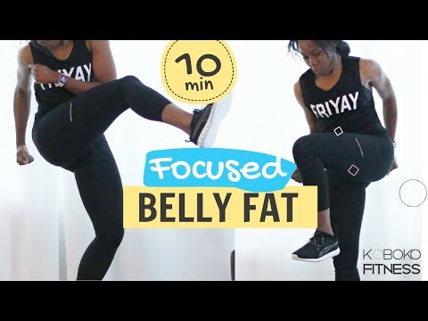 TABATA CARDIO TO BURN BELLY FAT | Home Workout - Koboko Fitness