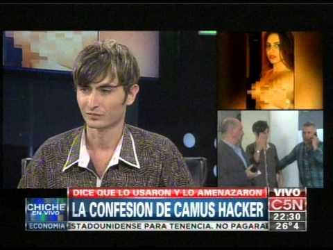 C5N - CHICHE EN VIVO: LA CONFESION DE CAMUS HACKERS
