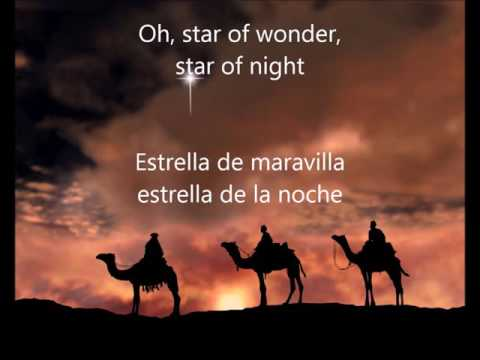 Ray Conniff / We three kings (Lyrics- Letra) Subtitulado Español- Ingles