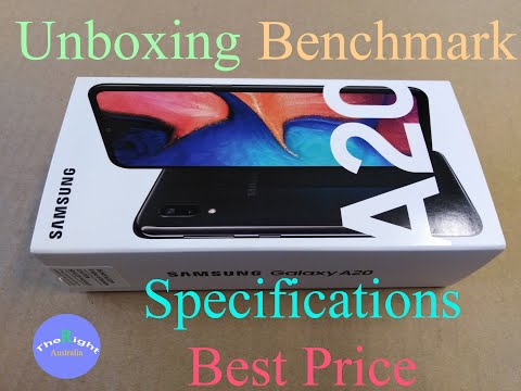 [ Unboxing Footage ]  Samsung A20 Octa Core 6.4