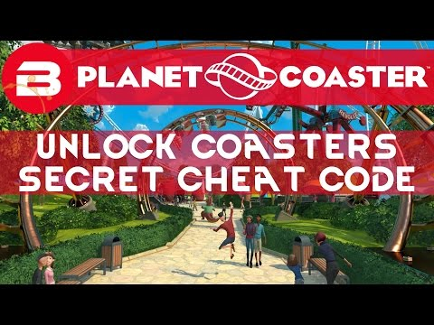 Planet Coaster Secret Cheat Code To UNLOCK COASTERS! (How To)