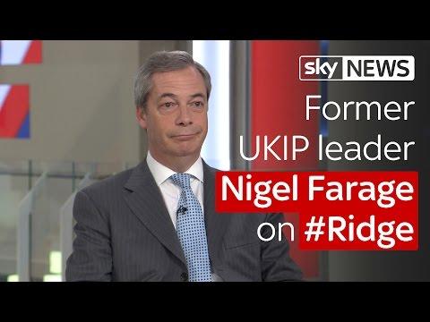 Nigel Farage on #Ridge