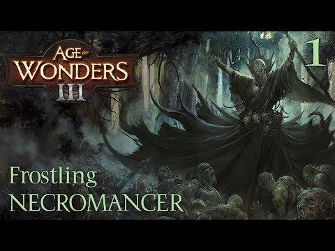 Age Of Wonders 3 | Frostling Necromancer - #1
