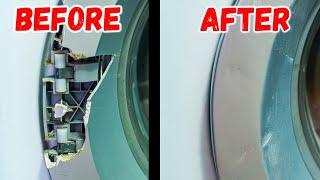 Невозможное возможно. Ремонт стиралки.  Реставрация.  restoration washing machine.