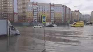 Смотри какие волны. Потоп в Тюмени, 8 июня 2015