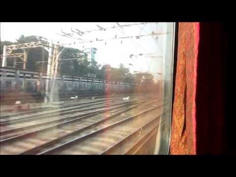 BCT Rajdhani Aggressive Run Through Mumbai: BCT-Virar Full Compilation