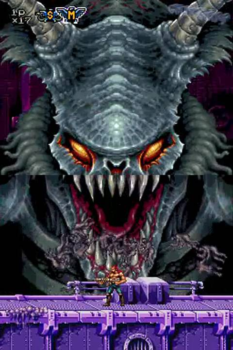 Nds Contra Dual Spirits Normal Level 魂斗羅 Ds Youtube