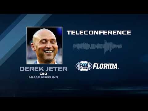Miami Marlins CEO Derek Jeter teleconference -- MLB winter meetings 12/11/2017