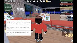 Playing pizza rea on roblox