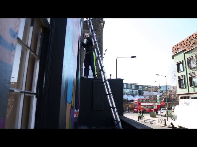 StreetArtShorts - Episode 4 Dancing In Colors with Huntoland
