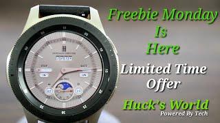 Galaxy Watch/Gear S3 (FREE) Analog/Digital Watch Face Download Now