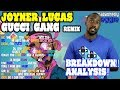 Joyner Lucas - Gucci Gang Remix REACTION!! BREAKDOWN! ANALYSIS!