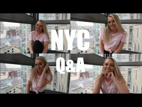 NYC Q&A | RELATIONSHIP STATUS + MY LIVING SITUATION
