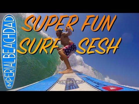 Super fun #Surf Sesh including 6 PIER SHOTS!!!