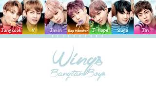 BTS OUTRO WINGS COLOR CODED