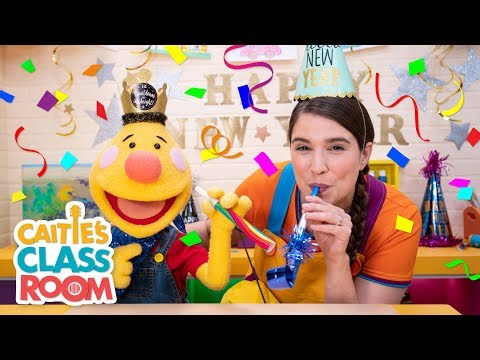 New Year's Eve Countdown With Caitie And Tobee | Caitie's Classroom