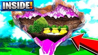 Going INSIDE the Floating Cube Island in Season 6 Fortnite! Fortnite NEW Update!