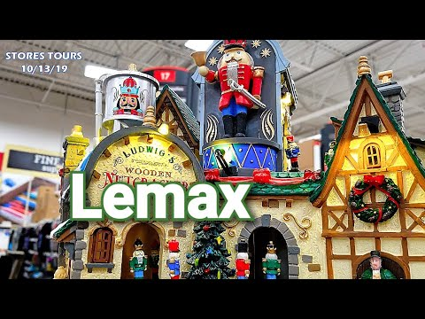 Michaels Christmas 2019  ♡  Lemax Christmas Village