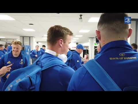 Team arrives in Glasgow ahead of Guinness PRO14 Final | Glasgow Warriors v Leinster Rugby